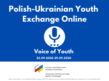 The Voice of Youth, 25-29.09.2020